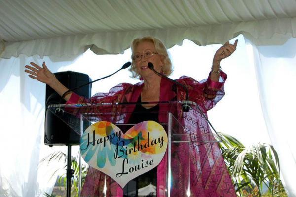 Louise Hay en conférence
